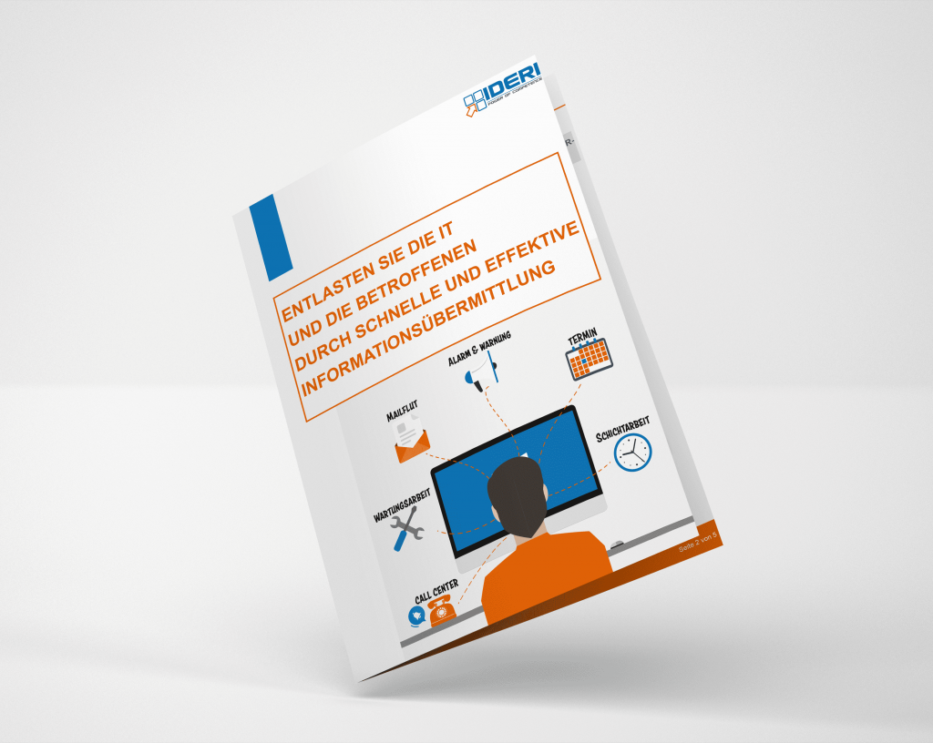 Desktop-Benachrichtigung Desktop-Alarmierung-Software