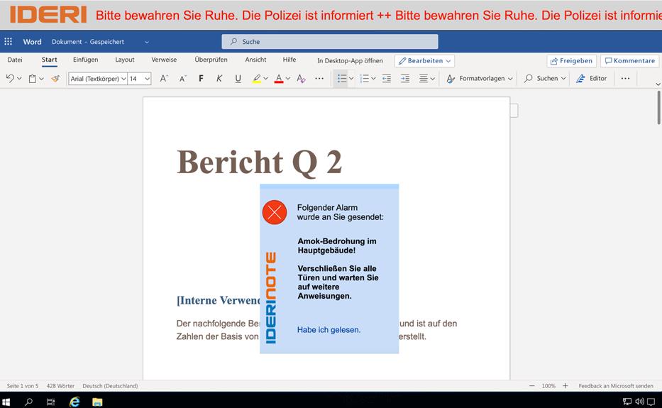IDERI-note_Benachrichtigung-Amok