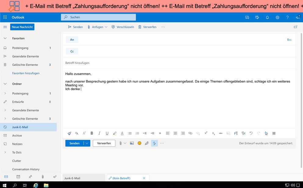 IDERI-note_Benachrichtigung-Mail